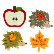 Autumn decoration for scattering and gluing felt 12pcs