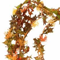 Autumn garland orange 3m