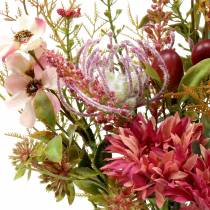 Bouquet of flowers autumn fuchsia 40cm