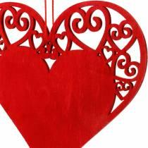 Heart to hang, wedding decoration, pendants heart, heart decoration, Valentine's Day 12pcs