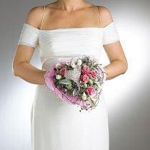 Floral foam bridal bouquet holder Ø7cm 16cm 6pcs