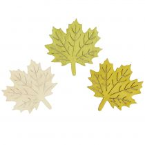 Maple leaves for sprinkling autumn colors assorted 4cm 72pcs
