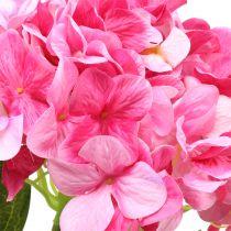Hydrangea large artificial pink L110cm