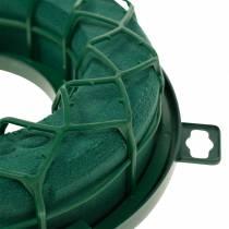 OASIS® IDEAL universal ring floral foam wreath green H4cm Ø18.5cm 5pcs