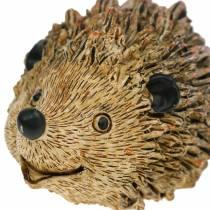 Decorative figure hedgehog nature 6.5cm