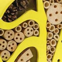 Insect hotel round yellow Ø25cm
