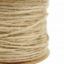 Jute cord natural Ø2mm 50m