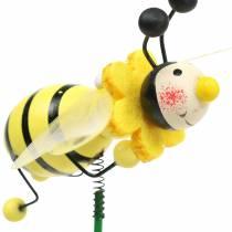Decorative plug beetle assorted colors H25cm 12pcs