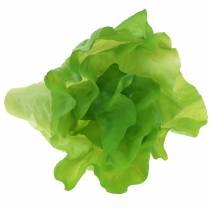 Green lettuce artificial real touch 17cm