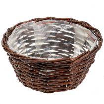 Round basket for planting nature Ø25cm