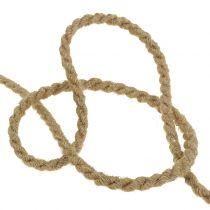 Jute cord natural Ø6mm 9m