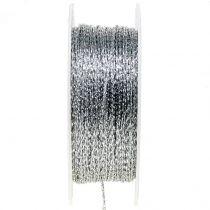 Cord silver Ø1mm 100m