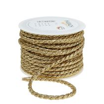 Gold cord 6mm 25m