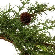 Wreath, table wreath larch green Ø50cm