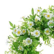 Wreath of daisies Ø28cm