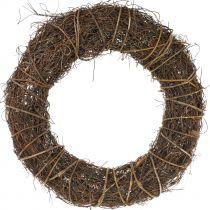 Vine wreath with willow Ø45cm