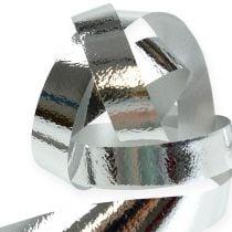 Split ribbon gloss 10mm 250m silver