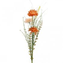 Artificial meadow flowers Orange artificial flowers at the Pick summer decoration