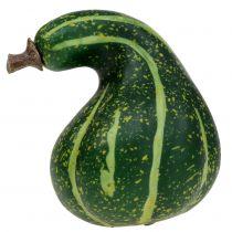 Artificial Ornamental Pumpkin Dark Green 11cm 6pcs