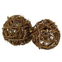 Ball from vine Ø10cm 10pcs