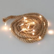 LED light chain cord for inside LED garland 190cm 20L warm white
