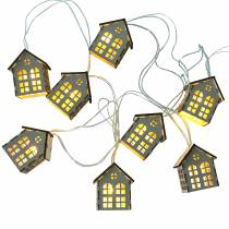 LED fairy lights houses battery operated