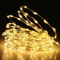 Light chain LED light wire warm white 189LED 3m