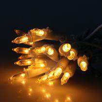 LED mini chain 20L white warm white 3m