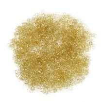 Tinsel metallic curly gold 50g
