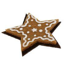 Gingerbread stars 4,5cm to stick 12pcs