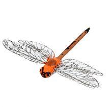 Dragonflies on clip 6.5cm x 8.5cm 12pcs