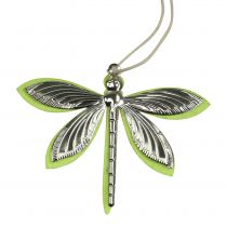 Dragonflies for hanging assorted colors 7cm x 5.5cm 28pcs