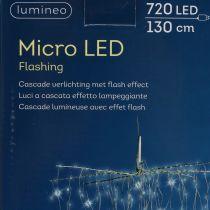 Light cascade Micro-LED cool white 720 H130cm