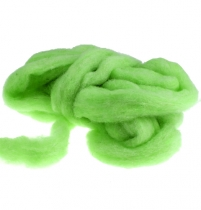Wool rivet 10m green