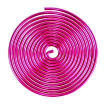 Metal screw wire screw Pink 2mm 120cm 2pcs
