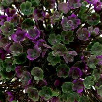 Mini ball lilac with flowers Ø12cm 1p