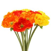 Poppy bouquet 33cm
