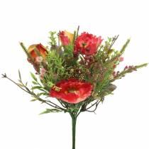 Bouquet of autumn poppies 25cm