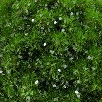 Moss ball with mica Ø9cm green