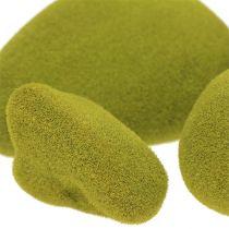 Moss stones mix green 5.5-13cm 12pcs