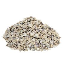 Shell granulate 2mm - 3mm natural 2kg
