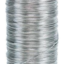 Myrtle wire silver galvanized 0.37mm 100g
