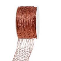 Mesh ribbon copper wire-reinforced 40mm 15m