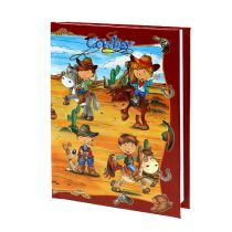 Notebook for boys Cowboy A6 1p