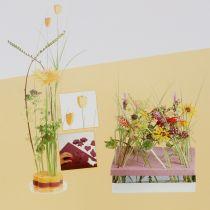 Floral foam designer panels plug-in size yellow 34.5cm × 34.5cm 3pcs