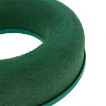 Floral foam ring wreath green H4.5cm Ø17cm 6pcs
