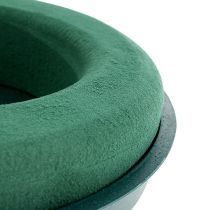 Plugging compound ring plugging foam with shell green Ø30cm H4.5cm 2pcs
