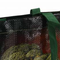 Shopping bag with handles Vegetables plastic 38 × 10 × 39cm