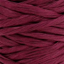 Paper cord 6mm 23m Bordeaux
