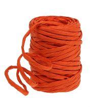 Paper cord 6mm 23m orange